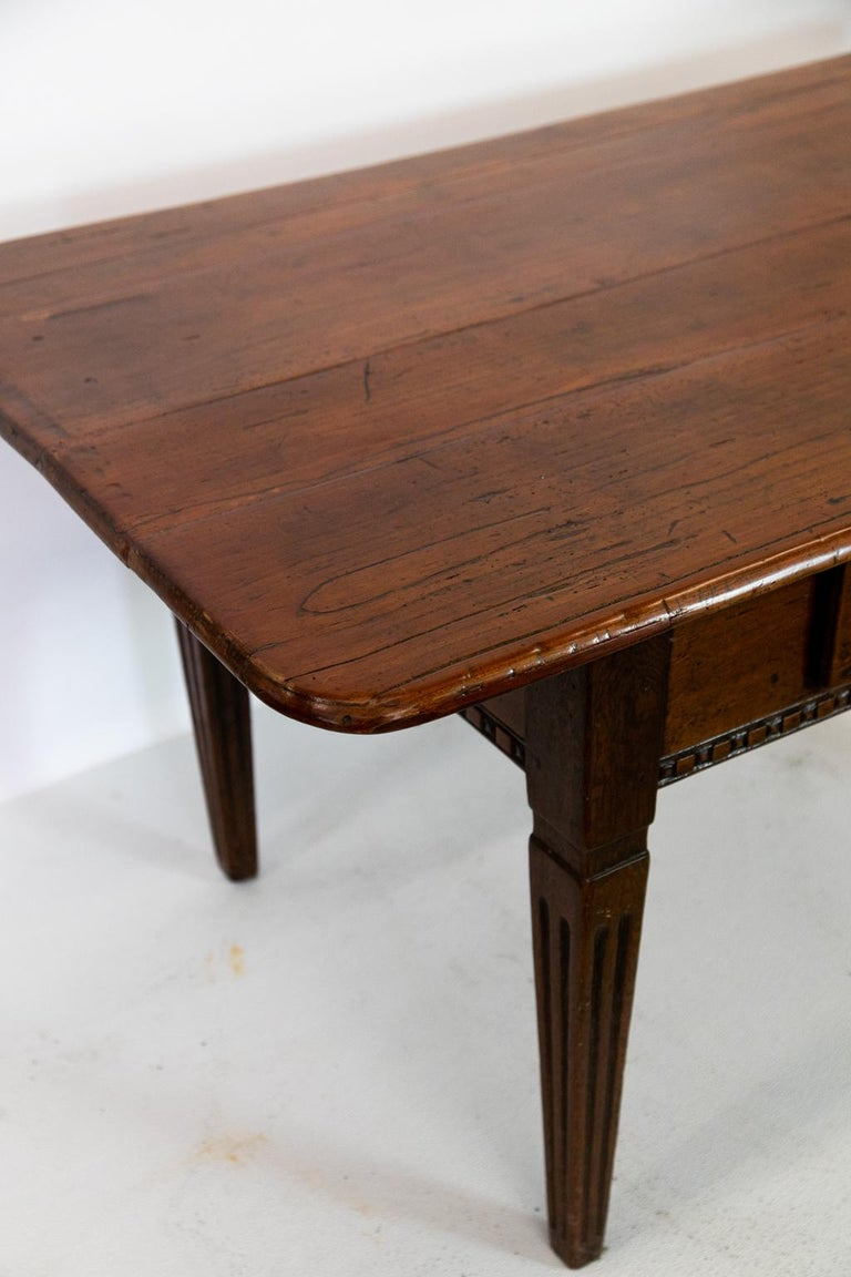 Mid-18th Century 18th Century French Fruitwood Work Table For Sale