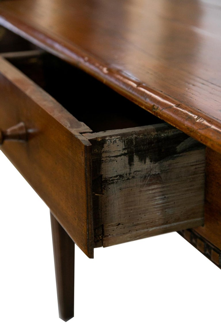 18th Century French Fruitwood Work Table For Sale 4