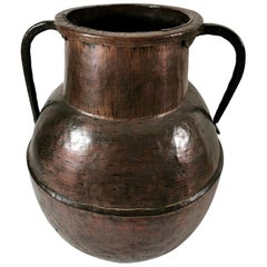 18th Century French Huge Copper Water Container