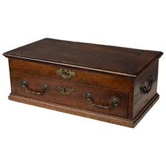 18th Century French Jewelry Walnut Box