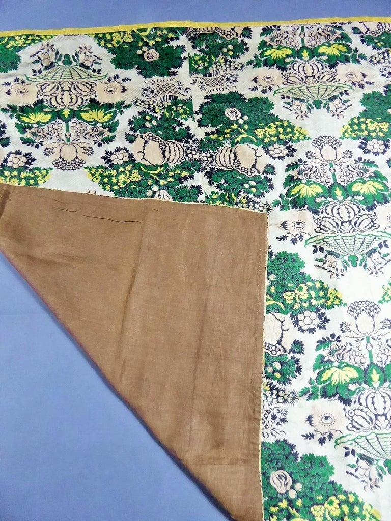 18th century French Lampas Silk - Bizarre Style - Circa 1730/1760 2