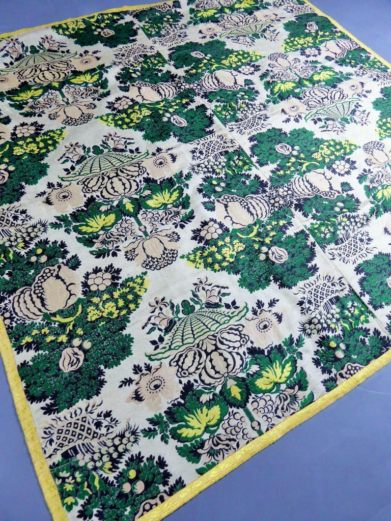 18th century French Lampas Silk - Bizarre Style - Circa 1730/1760 4