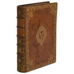 18th Century French Leather Keepsake, Secret Hiding Book 'Box'