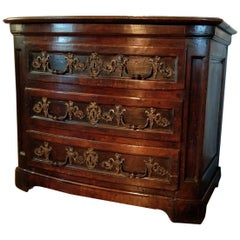 18th Century French Louis XIV Chest of Drawers, circa 1720
