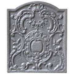 18th Century French Louis XV Fireback