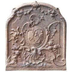 18th Century French Louis XV Fireback