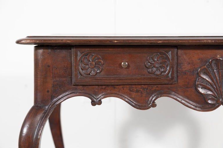 18th Century French Louis XV Period Side Table or Ladies Desk For Sale 6