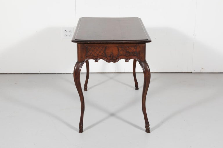 18th Century French Louis XV Period Side Table or Ladies Desk For Sale 8