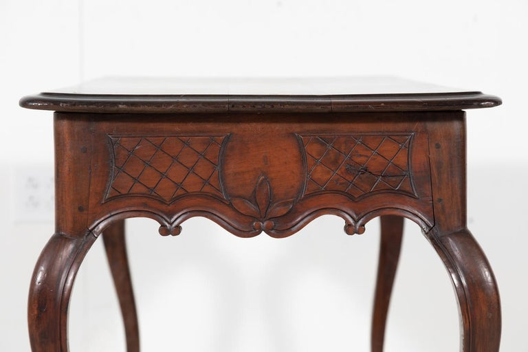 18th Century French Louis XV Period Side Table or Ladies Desk For Sale 9