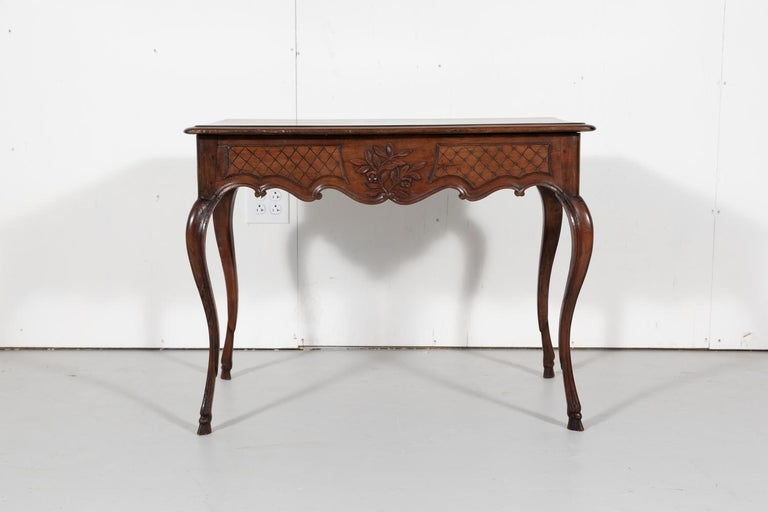 18th Century French Louis XV Period Side Table or Ladies Desk For Sale 10