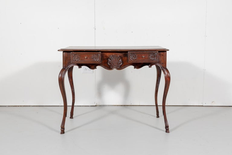 18th Century French Louis XV Period Side Table or Ladies Desk In Good Condition For Sale In Birmingham, AL