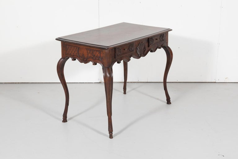 18th Century French Louis XV Period Side Table or Ladies Desk For Sale 1