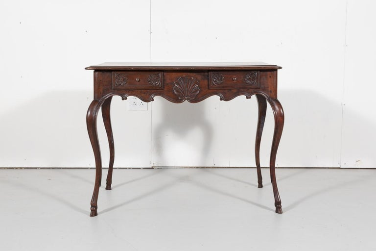 18th Century French Louis XV Period Side Table or Ladies Desk For Sale 3