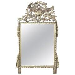 18th Century French Louis XVI Gilded Mirror