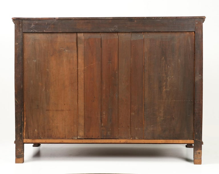 18th Century French Louis XVI Oak Commode Chest of Drawers For Sale 10