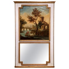 Louis XVI Trumeau Mirrors
