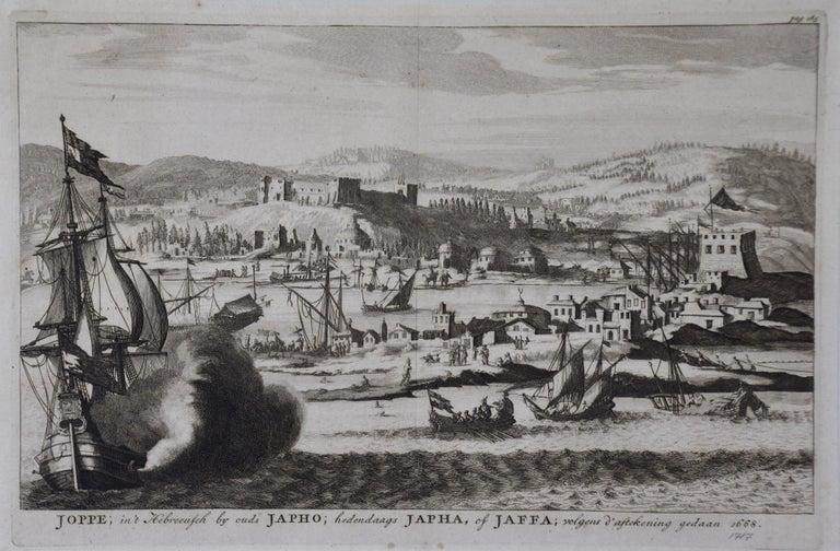 An original antique engraving entitled