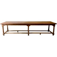 18th Century French Monastery Table