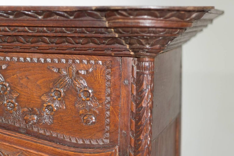 18th Century French Oak Armoire For Sale 9