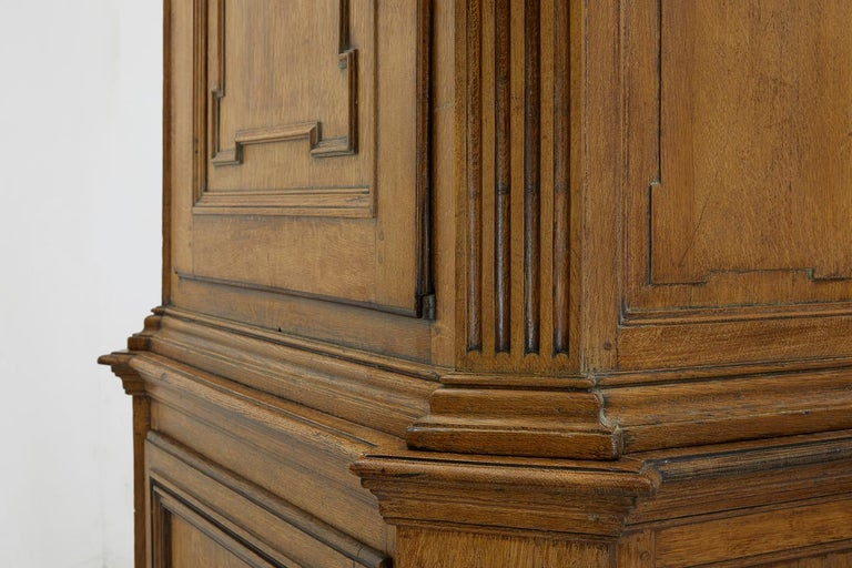 18th Century and Earlier 18th Century French Oak Cabinet For Sale