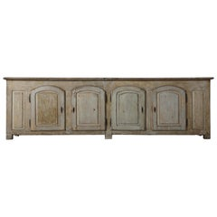 18th Century French Oak Enfilade with Original Paintwork