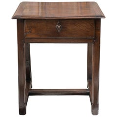 18th Century French Oak Side Table, circa 1750