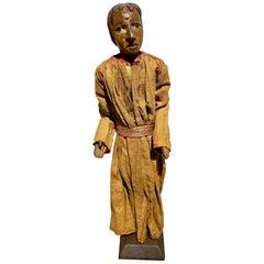 18th Century French or Italian Santo Nativity Figure
