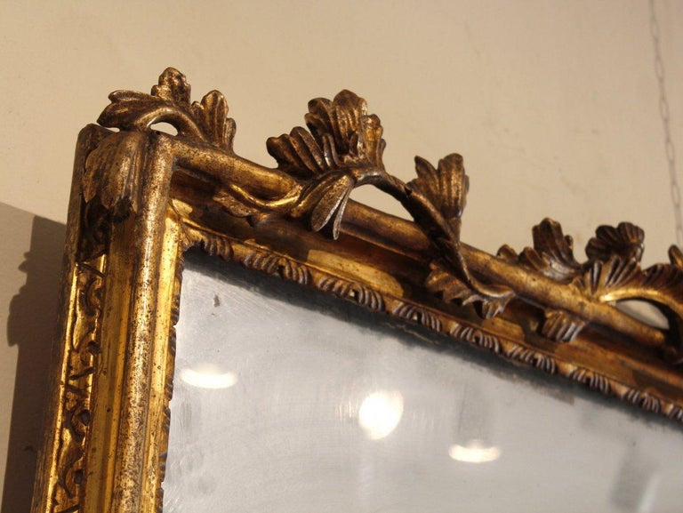18th Century and Earlier 18th Century French Pair of Louis XV Mirrors For Sale