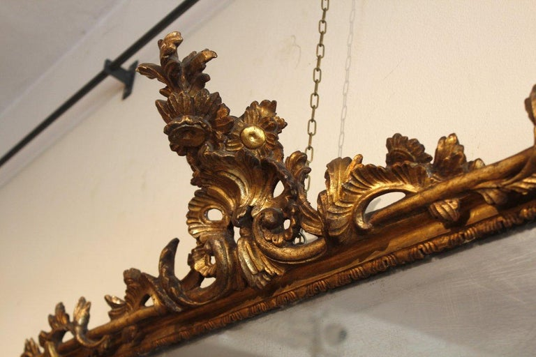 18th Century French Pair of Louis XV Mirrors For Sale 3