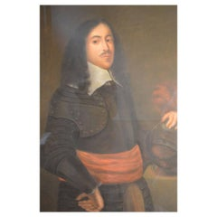 18th Century French Portrait of a Nobleman in the Original Frame