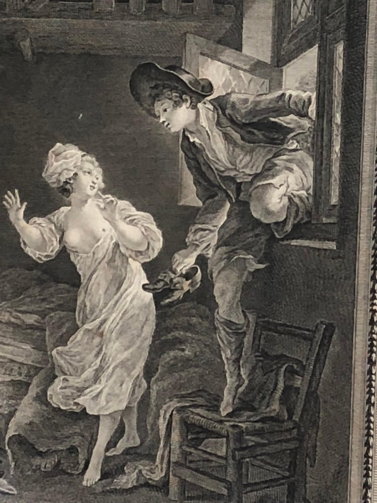 18th Century French Print by Pierre Philippe Choffard For Sale 1