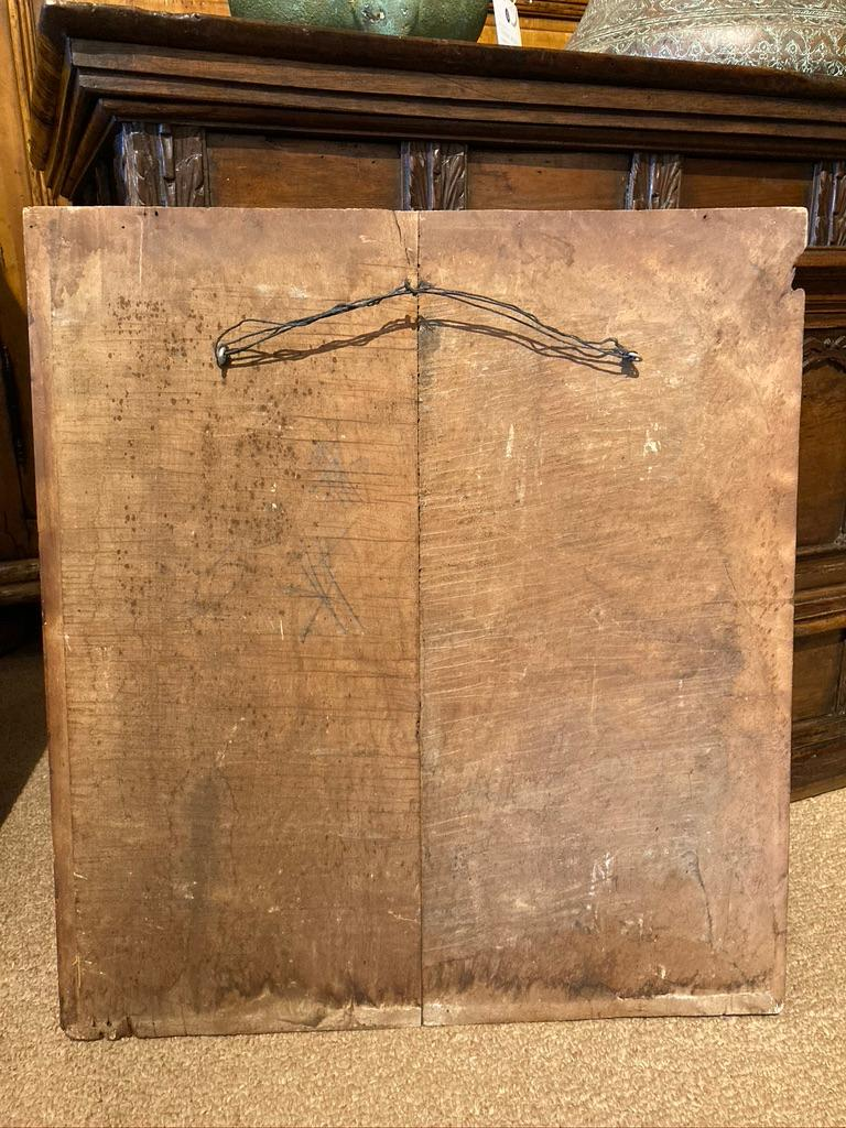 18th Century French Provincial Boiserie Panel Painting of Bacchus For Sale 9