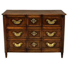 18th Century French Provincial Commode in Oak with Fine Metal Work