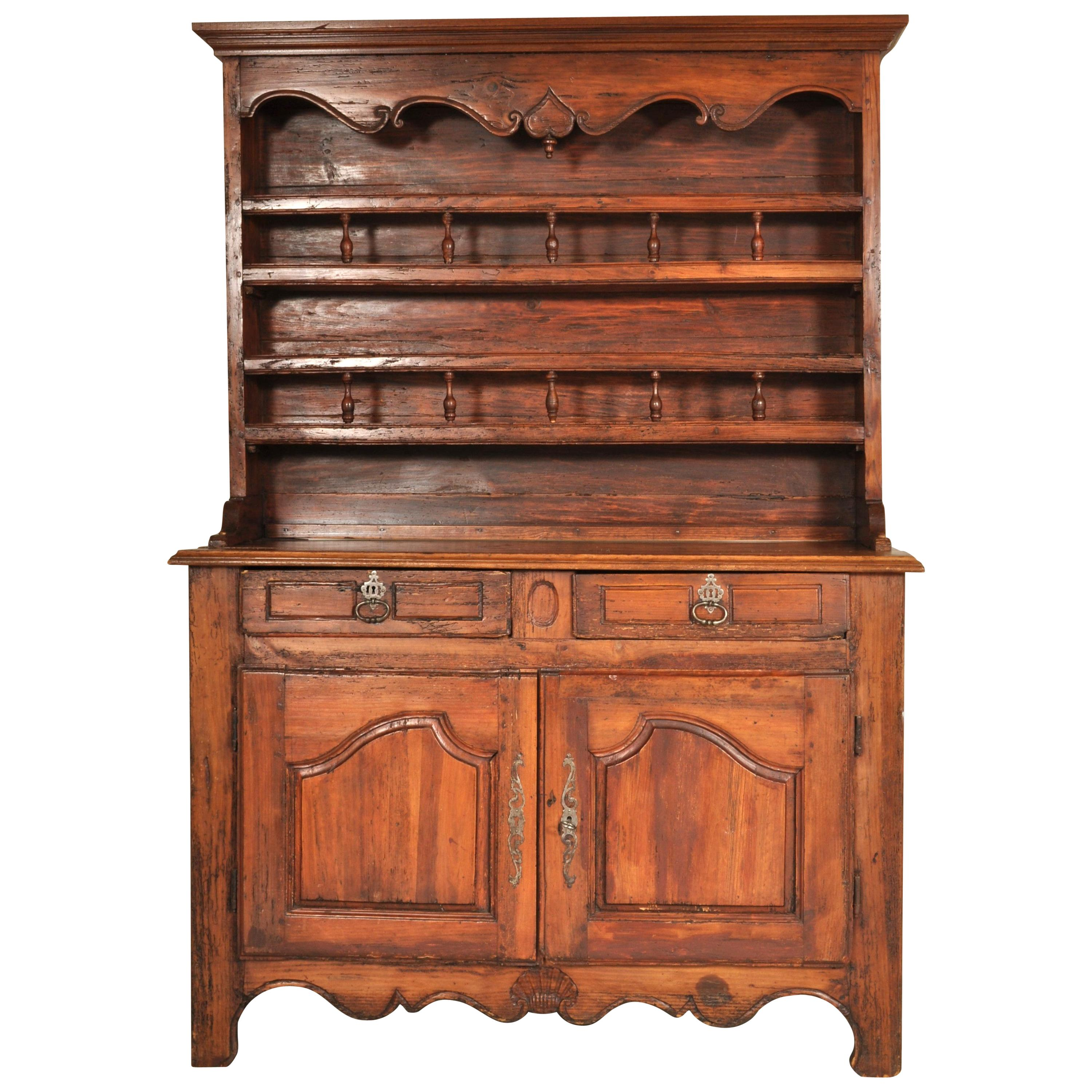 18th Century French Provincial Dresser / Buffet / Sideboard/ Vaisselier