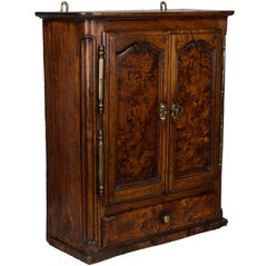 18th Century French Provincial Miniature Armoire