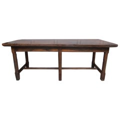 18th Century French Refectory or Dining Table Made of Oak