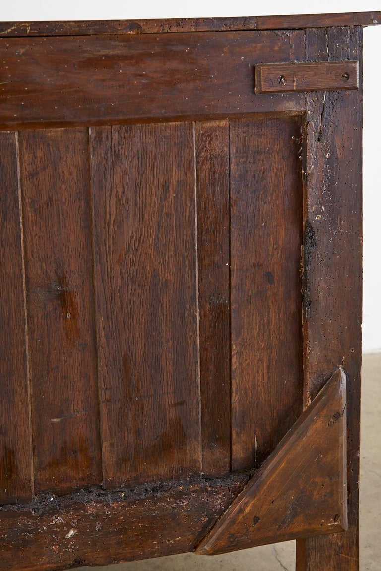 18th Century French Regence Walnut Commode or Chest For Sale 13