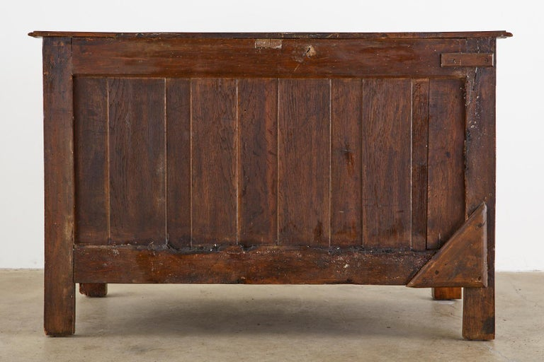 18th Century French Regence Walnut Commode or Chest For Sale 14