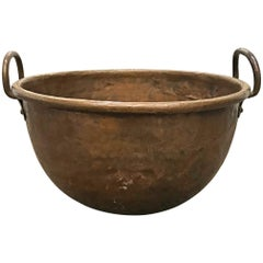 18th Century French Riveted Copper Confectioner's Pot