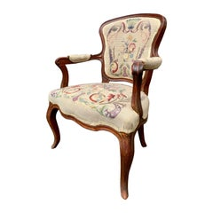 18th Century French Rococo Armchair