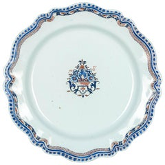 18th Century French Rouen Ceramic Platter