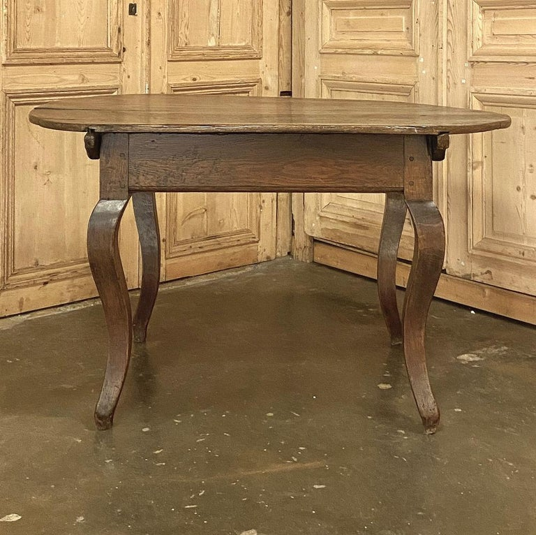 18th Century French Rustic Writing Table For Sale 6