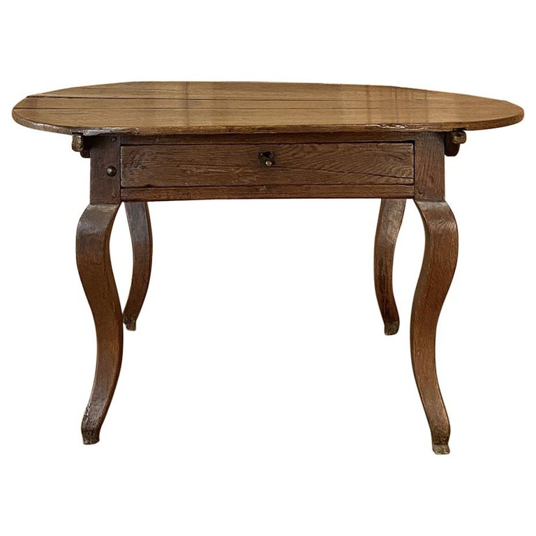 18th Century French Rustic Writing Table For Sale