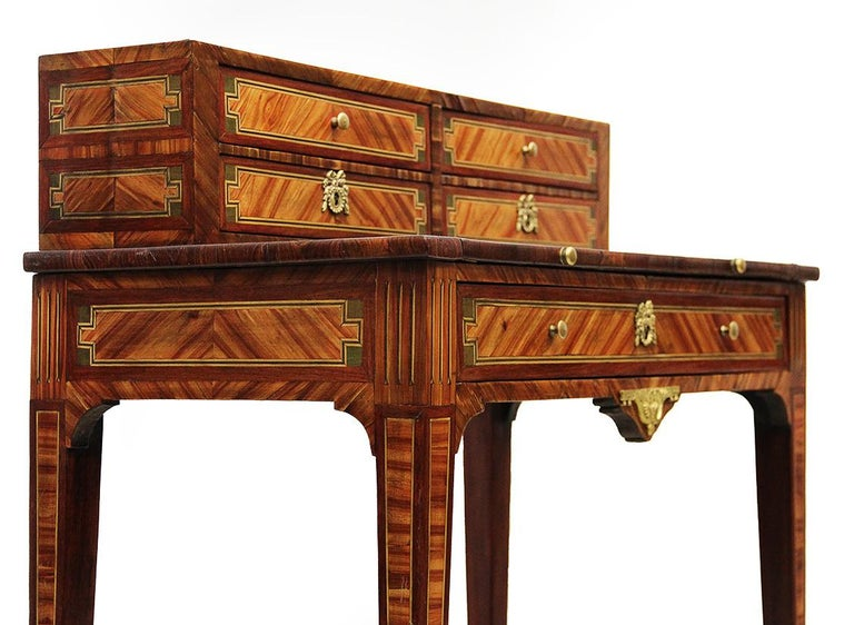 Marquetry 18th Century French Secretaire/ Desk Called