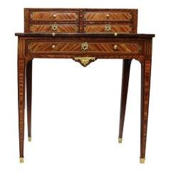 """18th Century French Secretaire/ Desk Called """"Bonheur Du Jour"""", Louis XVI Period"""