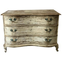 18th Century French Serpentine Front Commode