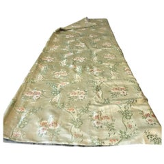 18th Century French Silk Brocade, Dress Silk