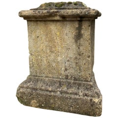 18th Century French Stone Pedestal