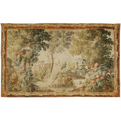 18th Century French Verdure Tapestry Probably Aubusson, circa 1740