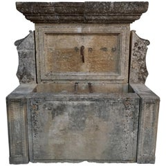 18th Century French Wall Fountain